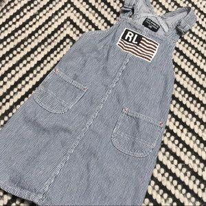 Vintage Polo Ralp Lauren Striped Dress Size 6x❤️